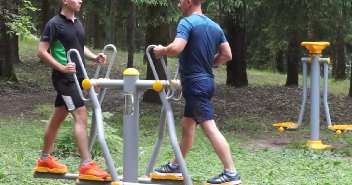 lauko treniruokliai, aktyvus laisvalaikis